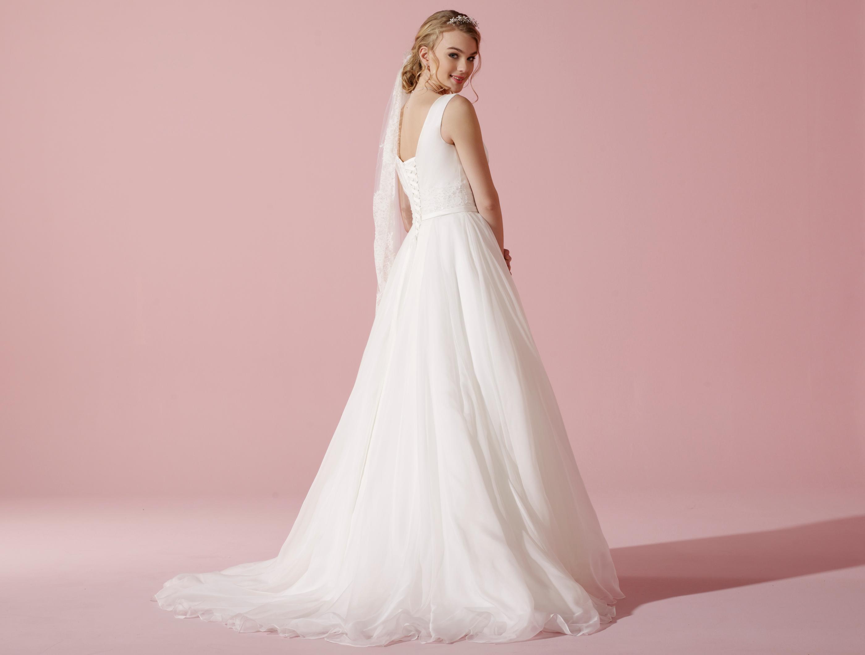 Atemberaubend Seidenorganza Hochzeitskleider Ideen - Brautkleider ...