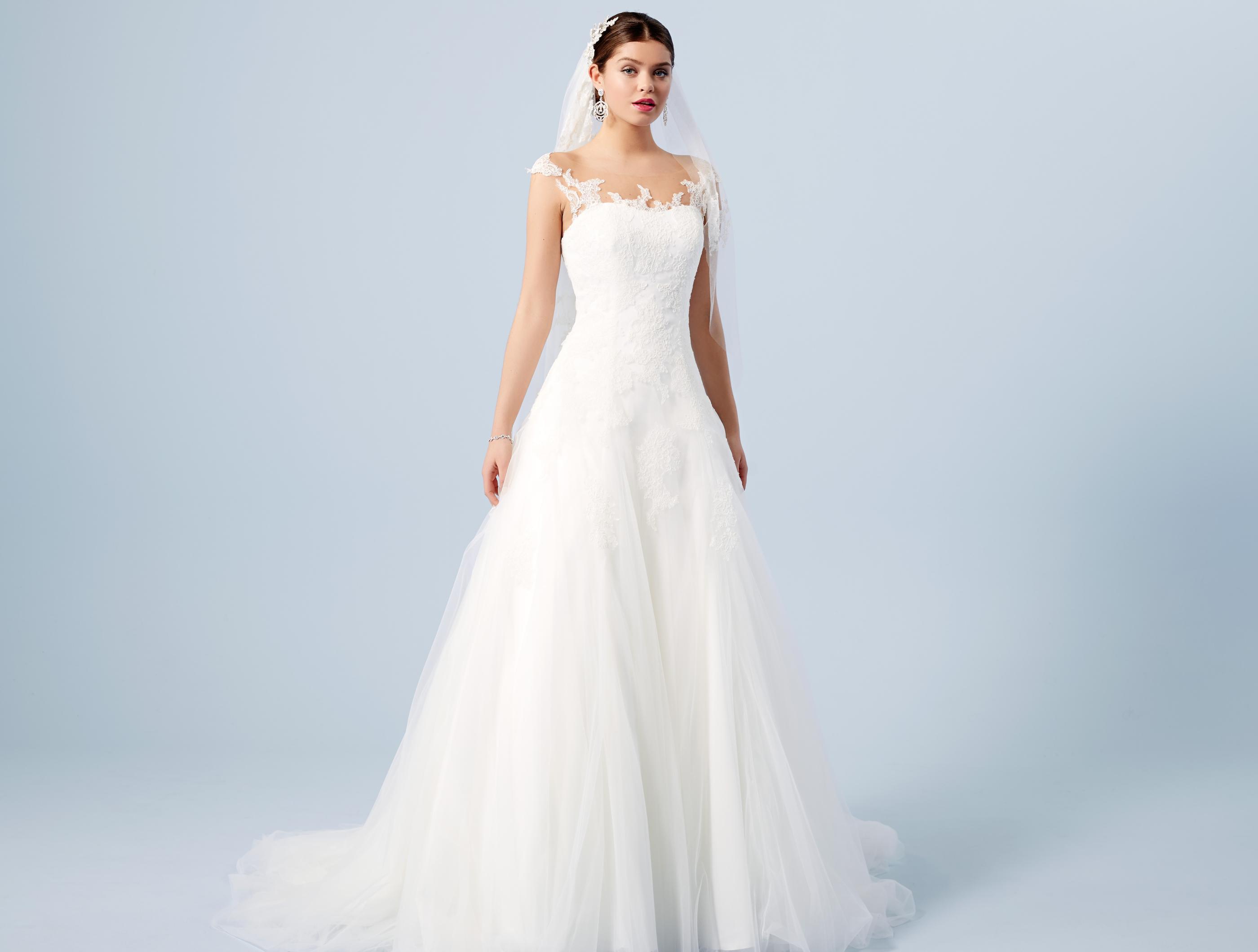 Brautkleider für die Birnenform