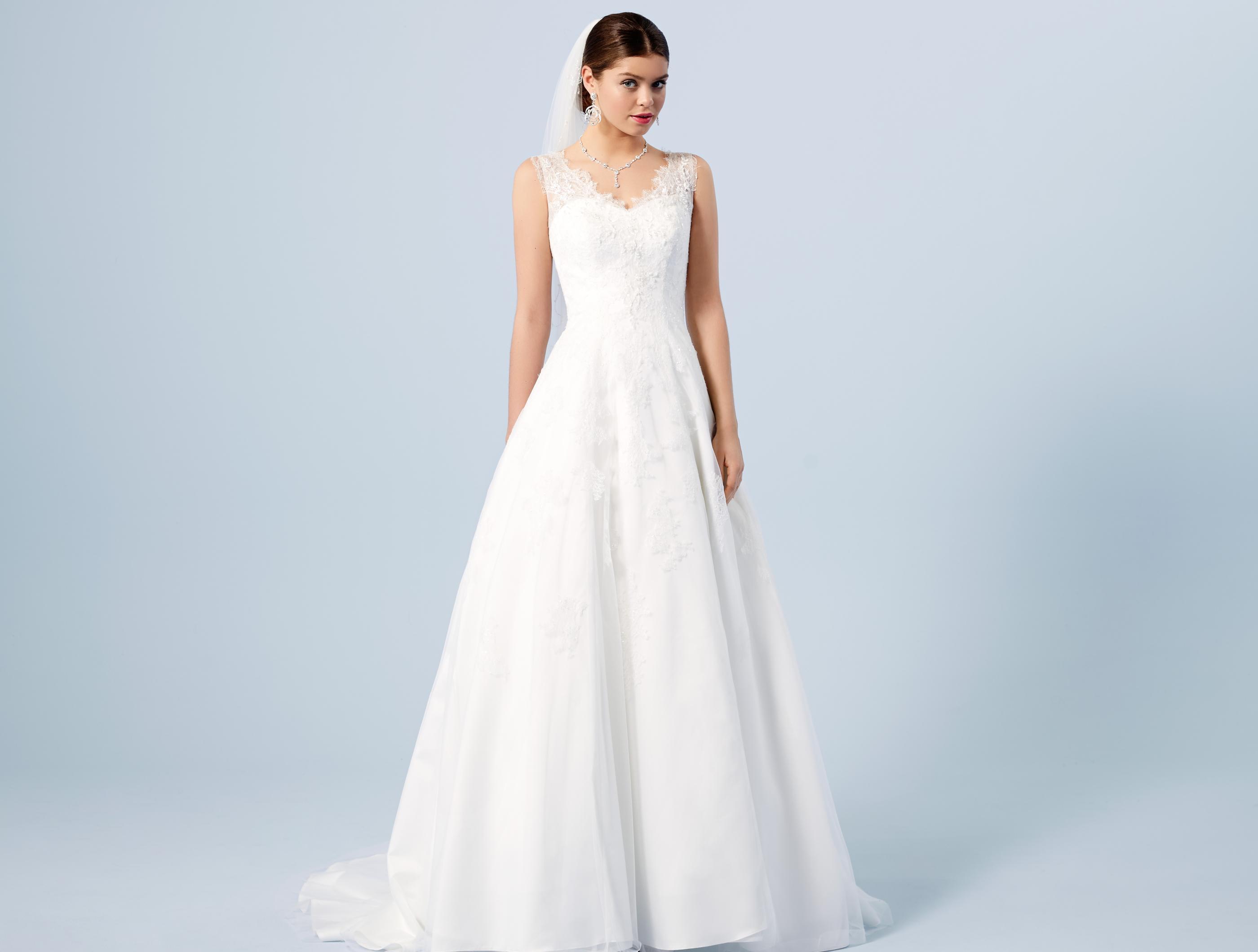 Groß Hochzeitskleid Verwendet Zeitgenössisch - Brautkleider Ideen ...