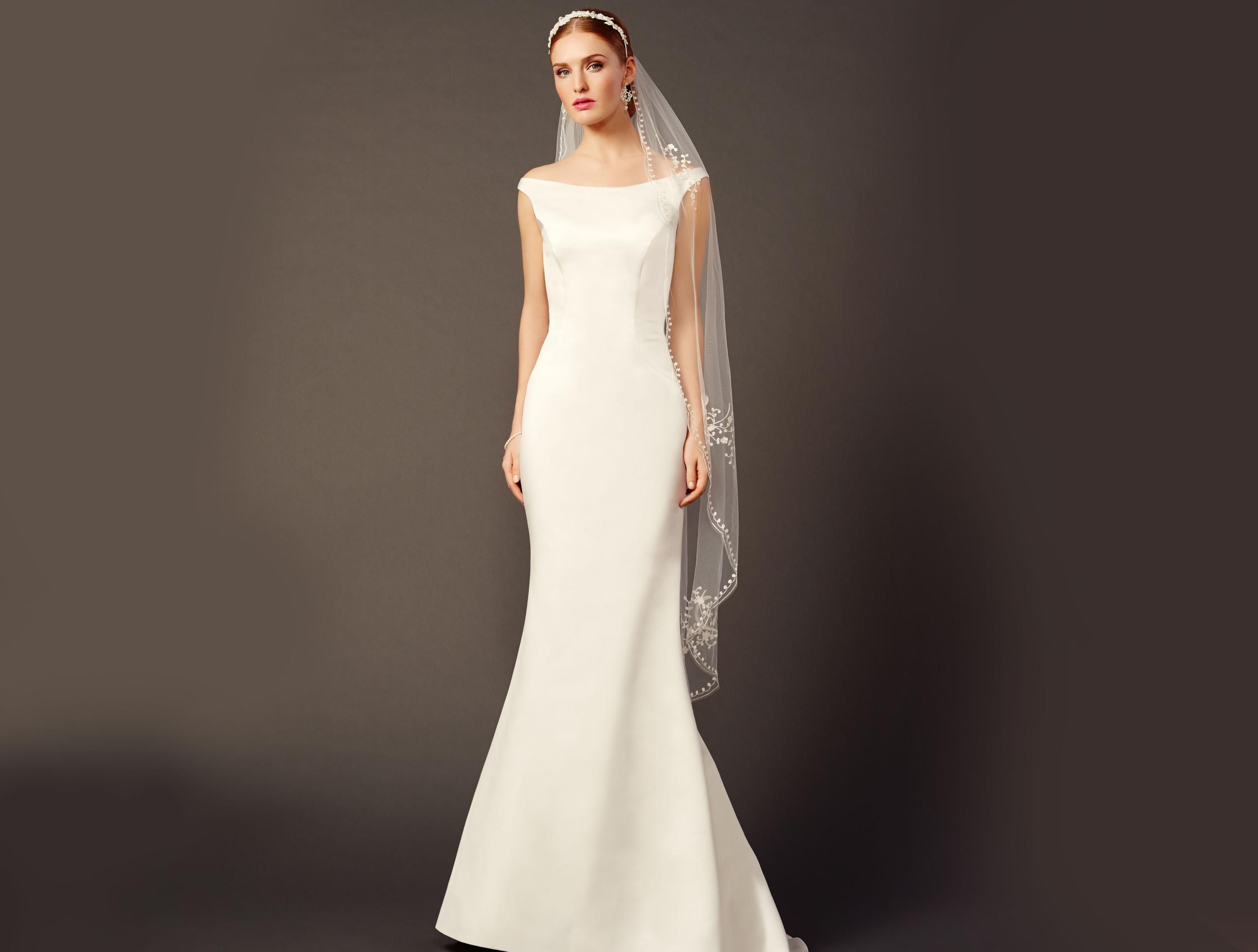 Purewhite by LILLY - Brautkleider und Hochzeitskleider in klaren ...