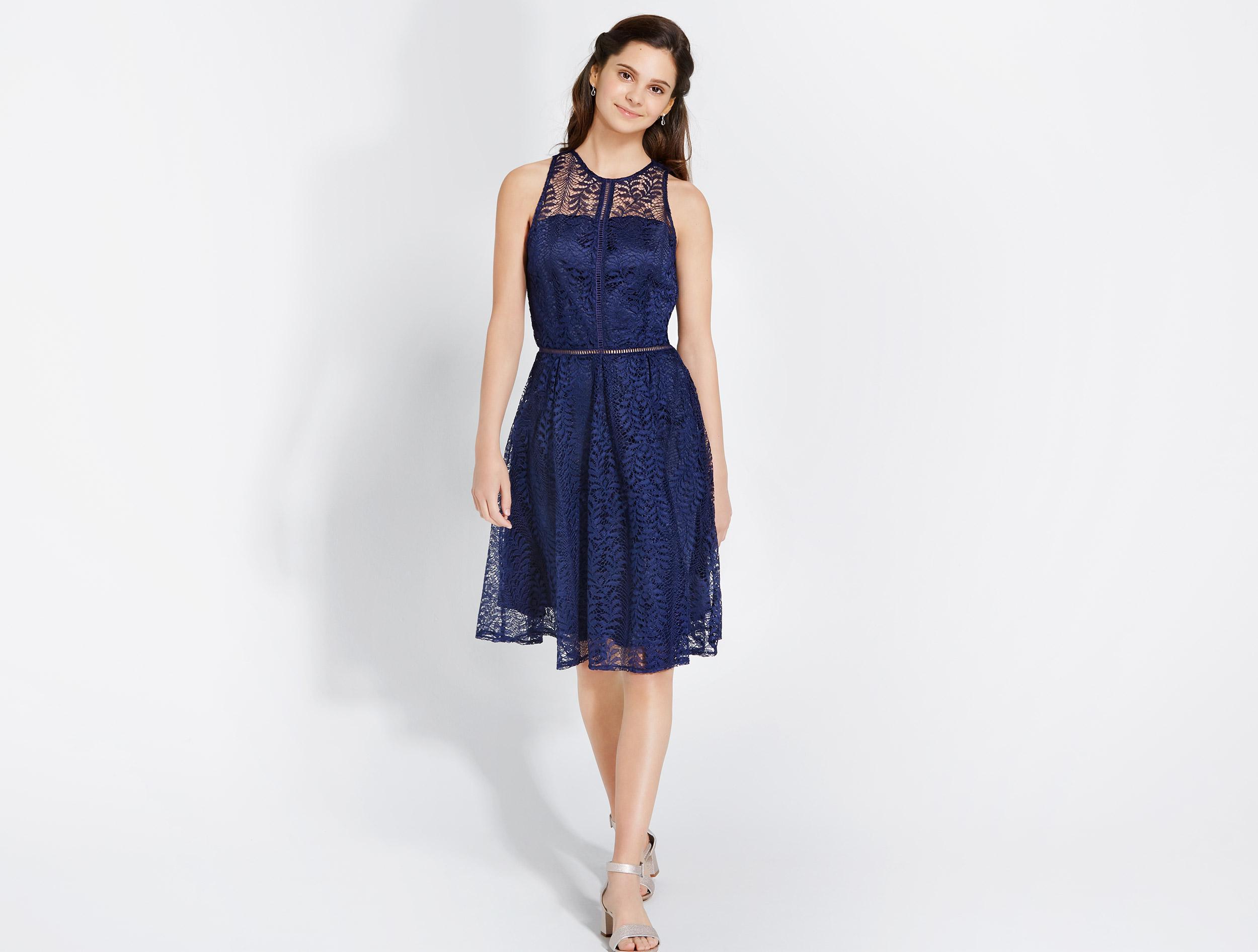 Kleid (Dunkelblau)